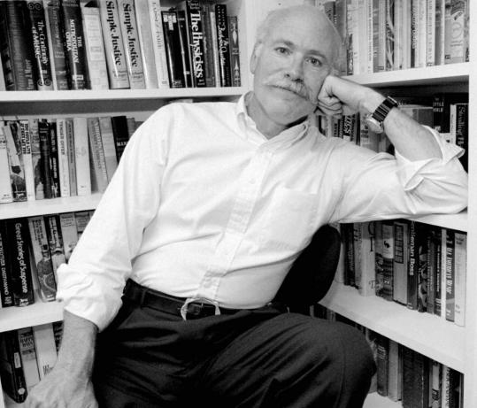 Tobias Wolff , shown above in 1994, was described by The Los Angeles Times as 'part storyteller, part philosopher.'