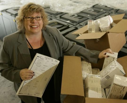 Bonnie Williams, director of the New Hanover County Board of Elections in North Carolina, has ordered 162,890 ballots for 131,856 registered voters who may vote in the May 6 primary.