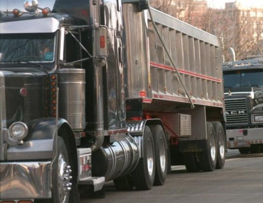 Many large diesel trucks are equipped with Jake brakes, a system that can produce an earsplitting, jackhammer noise.