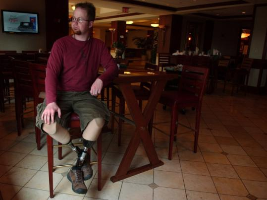 Brian Fountaine will marry on June 8, the two-year anniversary of the day a roadside bomb in Iraq ripped apart the Humvee he was riding in. 'I call it my 'alive day,' ' he said.