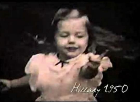 The Clinton ad 'Scranton' emphasizes her childhood in that Pennsylvania city.