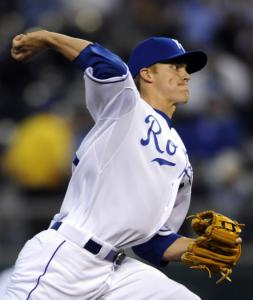 Zack Greinke turned in another impressive performace for KC, which has the AL's best ERA (2.25).