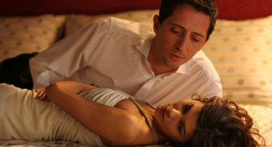 Gad Elmaleh as a hotel employee and Audrey Tautou as a gold digger on the French Riviera in 'Priceless.'
