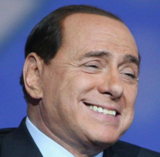 Silvio Berlusconi is accused of ruling to enrich himself.