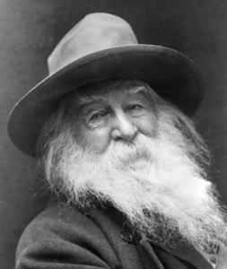 Walt Whitman in 1887.
