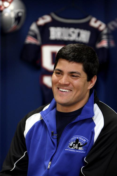 New England Patriots linebacker Tedy Bruschi and the American Stroke Association talks about 'Tedy's Team.'