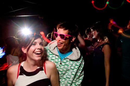 He wears his sunglasses at night: Chris Kasper rocked pink shades while making an appearance with his girlfriend Danea Barilaro. See more Hot Shots More info on Harpers Ferry SUBMIT Your nightlife photos! TALK What scene should we visit next?