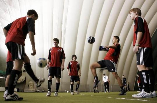 BRIDGEVIEW, Ill. - Louis Mateus is living an American soccer coach's dream.