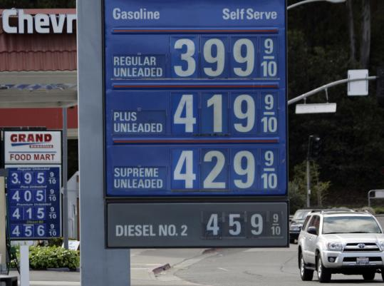 Mill Valley, Calif., is not the place to be if you are looking for a break on gas prices. The price of a gallon of unleaded regular hit a nationwide average of $3.50 yesterday.