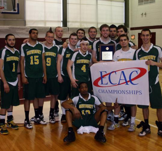 The Newbury College Nighthawks (21-9) won their first ECAC men's basketball championship on March 9.