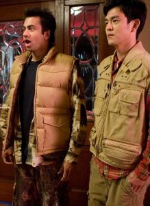 Kumar (Kal Penn, left) and Harold (John Cho) are on the lam in 'Harold & Kumar Escape From Guantanamo Bay.'