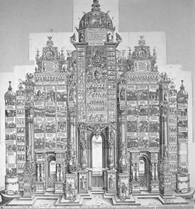 'The Triumphal Arch of Maximilian I' is one of the outsize prints that help 'Grand Scale' live up to its name.