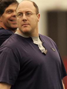 Patriots vice president of player personnel Scott Pioli says preparing for the draft is a yearlong process.