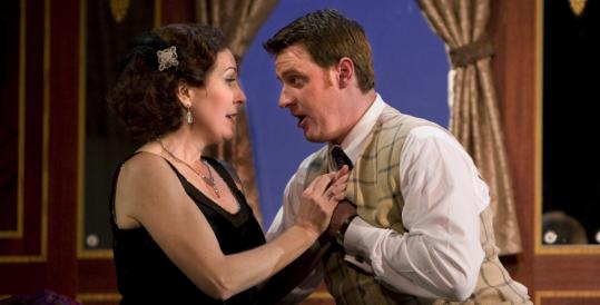 Soprano Mary Dunleavy and tenor Norman Reinhardt in 'The Abduction from the Seraglio.'