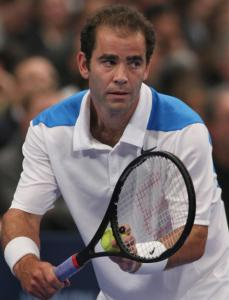 After a while, Pete Sampras found that retirement didn't really agree with him.