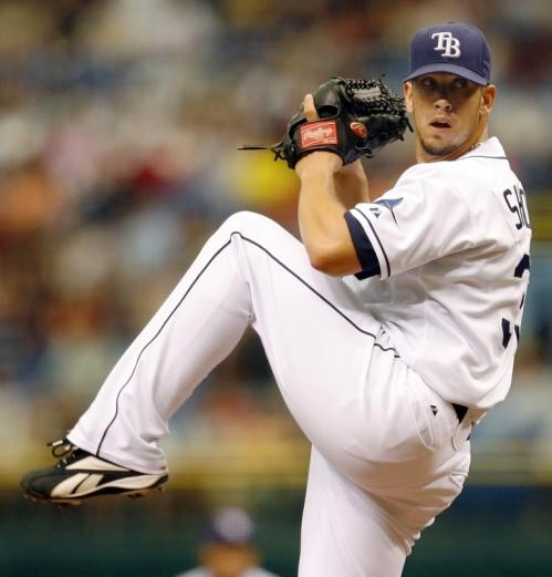 Tampa Bay Rays starting pitcher James Shields shut out the Red Sox on two hits.