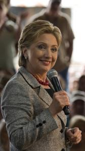 Clinton spoke at a campaign stop in Salisbury, N.C., yesterday. She criticized Obama for not backing a gas tax suspension.