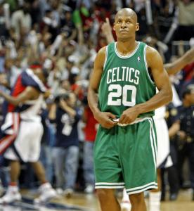 With the Hawks and their fans celebrating a Game 4 victory, Ray Allen already was looking ahead to Game 5.