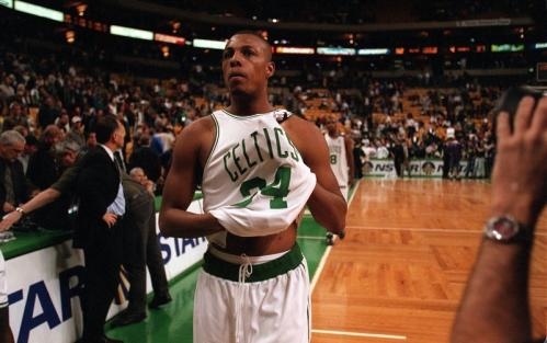Pierce led the Celtics in scoring 43 times, rebounds 19 times, assists 13 times and minutes played 20 times during the 2000-2001season.