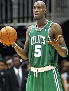 Kevin Garnett, who elbowed the Hawks' Zaza Pachulia and shoved referee Ed Rush during a skirmish in Game 4, was neither fined nor suspended by the NBA.