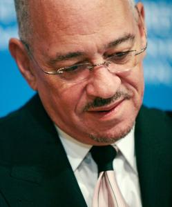 The Rev. Jeremiah A. Wright Jr. criticized Barack Obama at the National Press Club in Washington, D.C., on Monday.