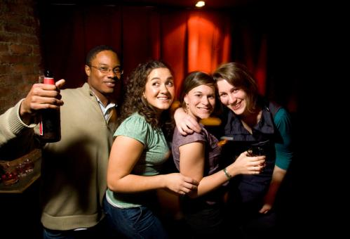 Trumpeter Jason Hunter hung out with friends (from left) Michelle Miranda, Kelley Tremblay. and Tiffani Buer. See more pics from this event More info on Good Life SUBMIT Your nightlife photos! TALK What scene should we visit next?