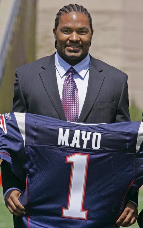 Mayo jersey presentation - Boston.com