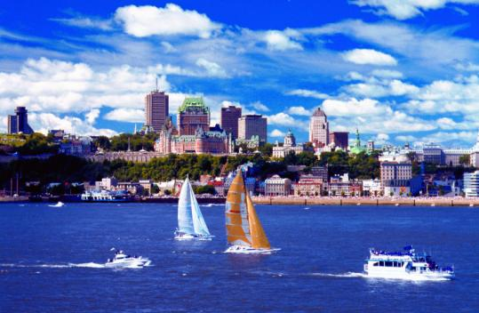 Quebec City celebrates its 400th year with hundreds of events and the Saint Lawrence River as backdrop and playground.