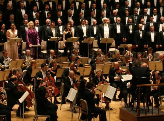 James Levine leads the Boston Symphony Orchestra and the Tanglewood Festival Chorus in 'The Trojans' at Symphony Hall.