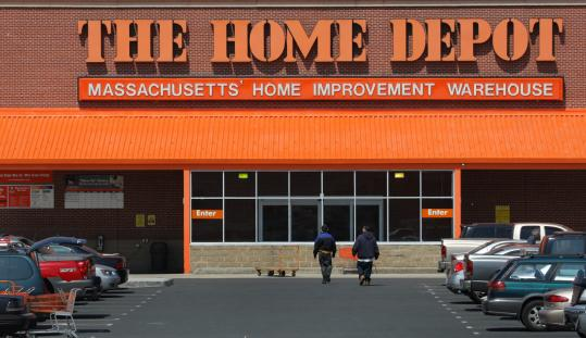 The Home Depot in Dorchester (above) will not close. The only regional store to close is in Brattleboro, Vt.