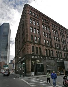 Some neighbors had lobbied for preserving a portion of the former Dainty Dot hosiery company building as part of a planned residential tower in Chinatown.