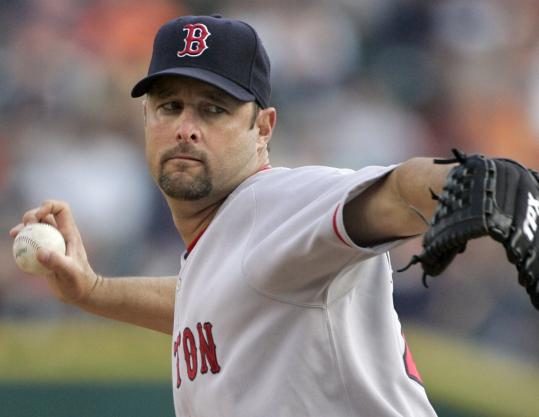 His vaunted knuckleball was only one weapon Tim Wakefield employed in his eight shutout innings (two hits, six strikeouts).