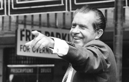 Nixon's presidential win in 1968, Perlstein writes, 'seemed to point the way toward an entire new political alignment.'