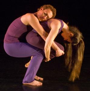 Jeffrey Polston and Deborah Abel in 'The Reflecting Pool,' from 'The Perfect Relationship: A Dance Concert of Duets.'