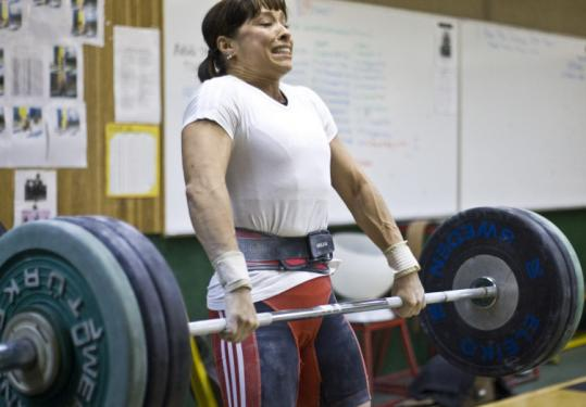 To aspiring Olympian Melanie Roach, hoisting barbells is nothing compared with the challenge of raising an autistic child.