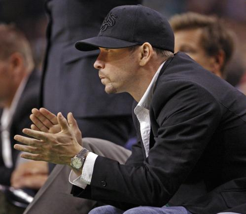 Spotted in the crowd: Actor Donnie Wahlberg.