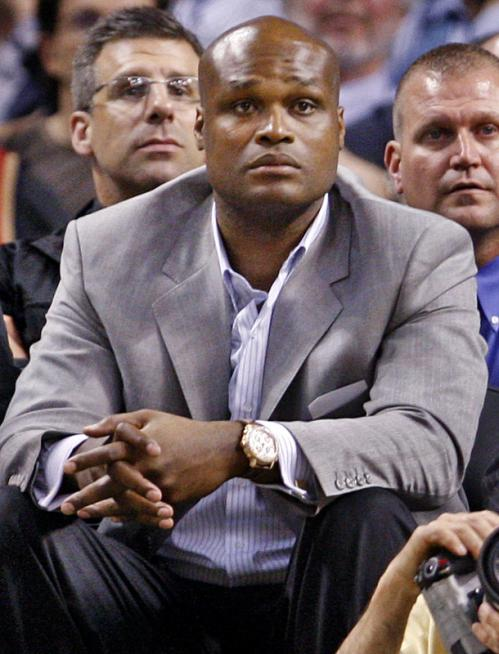 Spotted in the crowd: former Celtics forward Antoine Walker.