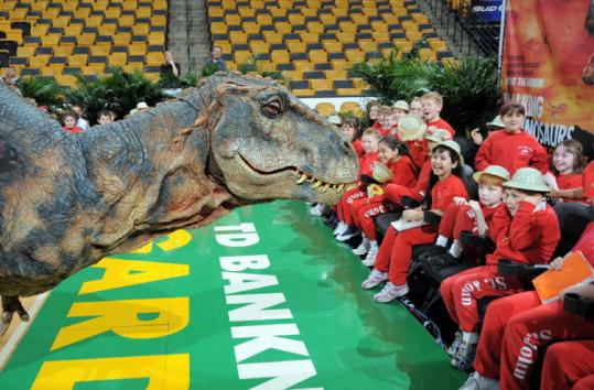 boston walking  with dinosaurs