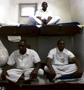 The documentary follows inmates as they take part in a 10-day course in Vipassana meditation at an Alabama prison in May 2002.