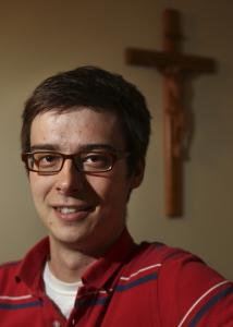 Nathaniel Hibner saw the religious life in his mind's rearview mirror during high school.