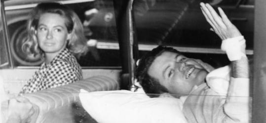 In 1964, Senator Edward M. Kennedy suffered a back injury in a plane crash. He was taken from Cooley Dickinson Hospital in Northampton to New England Baptist Hospital in Boston.