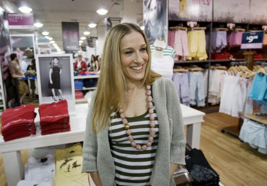 Steve & Barry's discount chain sells 'Sex and the City' actress Sarah Jessica Parker's clothing line, Bitten.