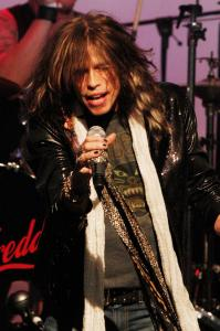 Aerosmith's frontman performing earlier this month in Los Angeles.