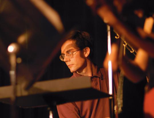 Percussionist Robert Schulz, pictured in performance two years ago.