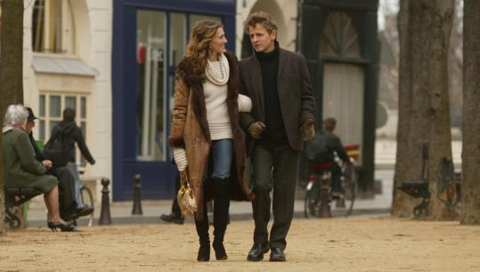 Sarah Jessica Parker and Mikhail Baryshnikov in a scene from the 2004 series finale of 'Sex and the City.'