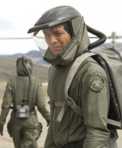 Benjamin Bratt in 'The Andromeda Strain.'