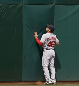Jacoby Ellsbury and the Sox hit a wall in Oakland, the latest example of their road deficiencies.