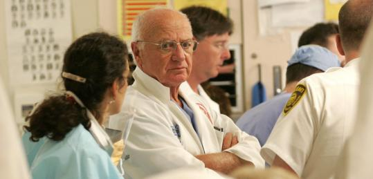 Dr. Erwin Hirsch supervised treatment in 2006 for a hit-and-run victim, who arrived at BMC with barely a pulse.