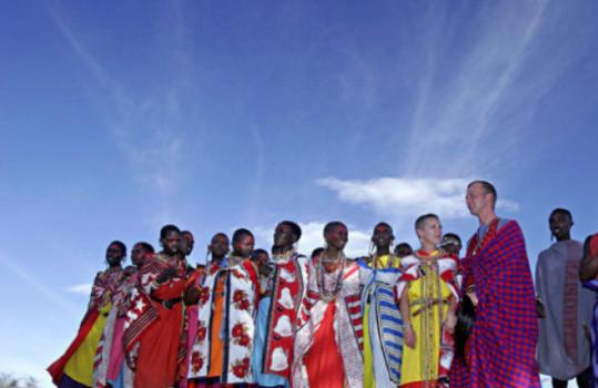 Forget the 'Wedding March.' Imagine Masai warriors chanting at your wedding at Kenya's Cottars 1920s Camp.