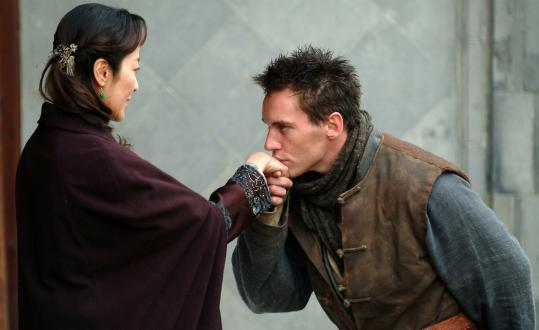 Michelle Yeoh and Jonathan Rhys Meyers star in 'The Children of Huang Shi.'